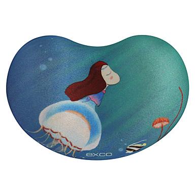 Exco msp020 blaue Quallen Anti-Rutsch-Boden Tuch kann gewaschen werden 10,5 * 7 * 2cm Maus-Pad Handgelenk
