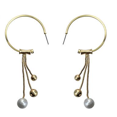 Damen Tropfen-Ohrringe Imitierte Perlen Personalisiert Luxus Einzigartiges Design Anhänger Stil Klassisch Retro Böhmische Grundlegend