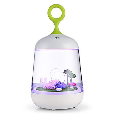 Lumină de noapte-1W-USB Decorativ Schimbare - Culoare Touch Sensor - Decorativ Schimbare - Culoare Touch Sensor