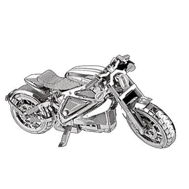 Jucării pentru mașini Puzzle 3D Puzzle Metal Moto Cai Reparații Crom MetalPistol Clasic Pentru copii Băieți Unisex Cadou