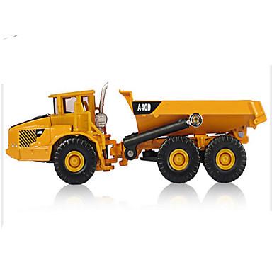 KDW لعبة سيارات سيارات الصب ألعاب دراجة نارية سيارة الحفريات سيارة الإطفاء Excavator ألعاب مستطيل آلات الحفر سبيكة معدنية الحديد قطع