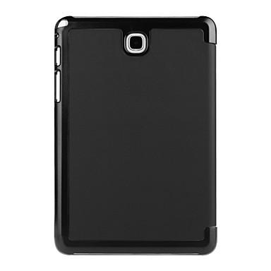 غطاء من أجل Samsung Galaxy علامة التبويب A 8.0 غطاء كامل للجسم حالات اللوحي سادة لون الصلبة قاسي جلد PU إلى