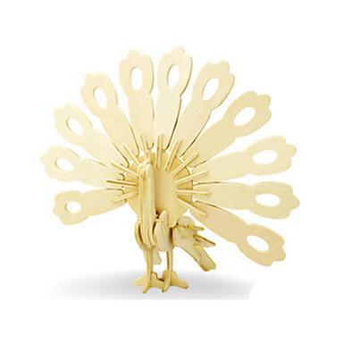 قطع تركيب3D تركيب النماذج الخشبية ديناصور طيارة حيوان 3D اصنع بنفسك خشبي خشب كلاسيكي للجنسين هدية