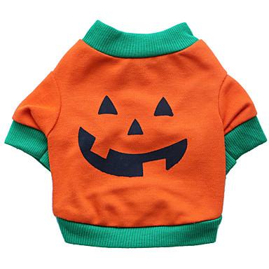 Hond kostuums Hondenkleding Cosplay Halloween Doodskoppen Oranje Kostuum Voor huisdieren
