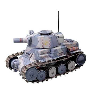 Speelgoedauto's 3D-puzzels Bouwplaat Speeltjes Vierkant Tank Strijdwagen Hard Kaart Paper Niet gespecificeerd Stuks