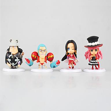 Anime de acțiune Figurile Inspirat de One Piece Monkey D. Luffy PVC 7cm CM Model de Jucarii păpușă de jucărie Unisex