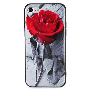 Caz pentru Apple iphone 7 plus 7 acoperire model embossed spate acoperire caz floare moale tpu 6s plus 6 plus 6s 6 5 5s