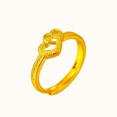 Pentru femei Inel manşetă Ring De Bază Inimă Modă Ajustabile Articole de ceramică Circle Shape Inimă Bijuterii Nuntă Ocazie specială Zi