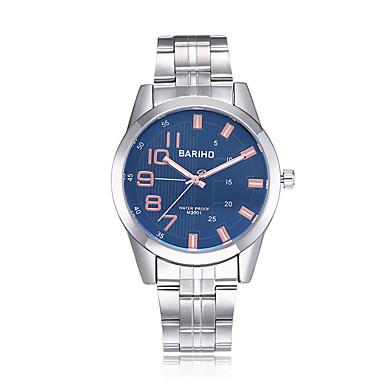 jewelora Bărbați Ceas de Mână Ceas Elegant  Ceas La Modă Chineză Quartz Rezistent la Apă Mare Dial Rezistent la Șoc Oțel inoxidabil Bandă