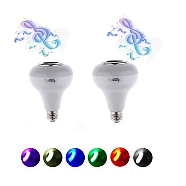 5W 400lm Slimme LED-lampen 15 LED-kralen SMD 5050 RGB 220V