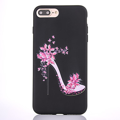 Hülle Für Apple Mattiert Muster Rückseitenabdeckung Sexy Lady Weich TPU für iPhone 7 plus iPhone 7 iPhone 6s Plus iPhone 6 Plus iPhone 6s