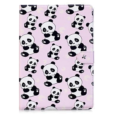 Hülle Für Apple iPad 4/3/2 iPad Air 2 Origami Muster Ganzkörper-Gehäuse Panda Hart PU-Leder für iPad 4/3/2 iPad Air 2 iPad Pro 10.5