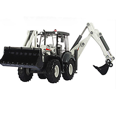 KDW Jucării pentru mașini Vehicul Die-cast Jucarii Motocicletă Vehicul de Construcție Vehicul Pompieri Excavator Jucarii Dreptunghiular