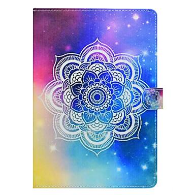 hoesje Voor Apple iPad Mini 4 iPad Mini 3/2/1 iPad 4/3/2 iPad Air 2 iPad Air Kaarthouder met standaard Patroon Volledig hoesje Mandala