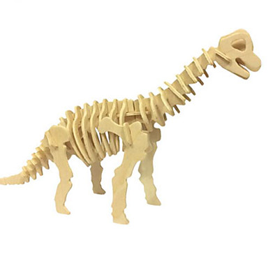 3D - Puzzle Holzpuzzle Holzmodelle Modellbausätze Dinosaurier Tier 3D Simulation Heimwerken Holz Naturholz Klassisch Unisex Geschenk