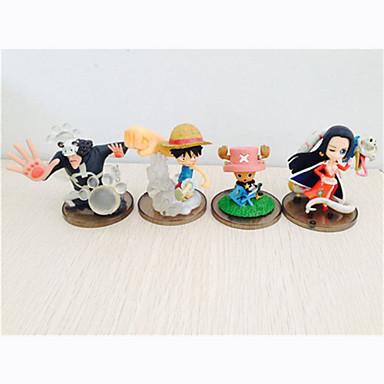 عمل أرقام أنيمي مستوحاة من One Piece Monkey D. Luffy PVC 7cm CM ألعاب تركيب دمية لعبة للجنسين