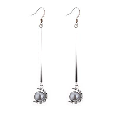 Pentru femei Cercei Picătură Imitație de Perle Modă stil minimalist Imitație de Perle Perle Gri Aliaj Circle Shape Bijuterii Pentru