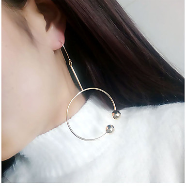 Damen Tropfen-Ohrringe Euramerican Modisch Aleación Kreisform Schmuck Alltag Normal Modeschmuck