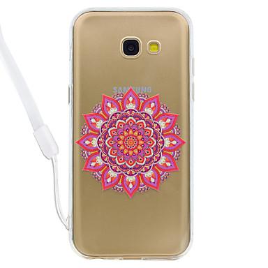 hoesje Voor Samsung Galaxy A5(2017) A3(2017) Transparant Patroon Achterkantje Mandala Transparant Hard Acryl voor A3 (2017) A5 (2017)
