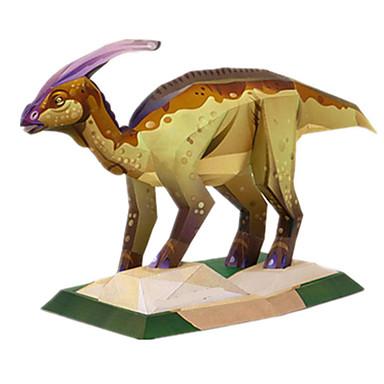 3D - Puzzle Papiermodel Modellbausätze Quadratisch Ente Dinosaurier Heimwerken Hartkartonpapier Klassisch Unisex Geschenk