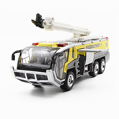 Speelgoedauto's Modelauto Brandweerwagen Speeltjes Simulatie Speeltjes Metaallegering Alloy Metal Stuks Kinderen Unisex Jongens Geschenk