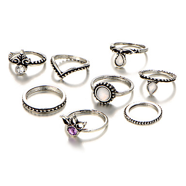 Pentru femei Cristal / Diamant sintetic / Zirconiu Cubic Cristal Lux / Boem / Hipoalergenic Set bijuterii - Lux / Boem / Confecționat