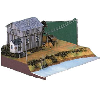 Puzzle 3D Jucarii Casă 3D Reparații Simulare Hârtie Rigidă pentru Felicitări Ne Specificat Unisex Bucăți