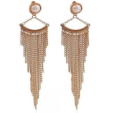 Pentru femei Imitație de Perle Personalizat Sexy Modă Aliaj Geometric Shape Bijuterii Pentru Nuntă Petrecere Zi de Naștere Alte Logodnă