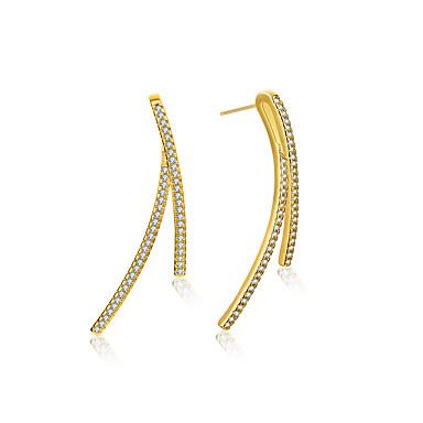 Heren Dames Oorknopjes Modieus Eenvoudige Stijl Klassiek Elegant Verzilverd Sieraden Sieraden VoorBruiloft Feest Verjaardag Dagelijks
