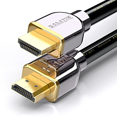 HDMI 2.0 Kabel, HDMI 2.0 to HDMI 2.0 Kabel Mannelijk - Mannelijk Verguld koper 3.0M (10Ft)