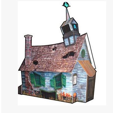 3D - Puzzle Papiermodelle Berühmte Gebäude Kürbis Architektur Heimwerken Hartkartonpapier Kinder Jungen Unisex Geschenk
