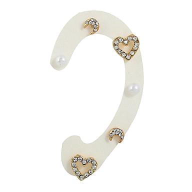 Damen Ohrstecker Ohrring Einzigartiges Design Modisch individualisiert Euramerican Britisch Künstliche Perle Metalllegierung Strass