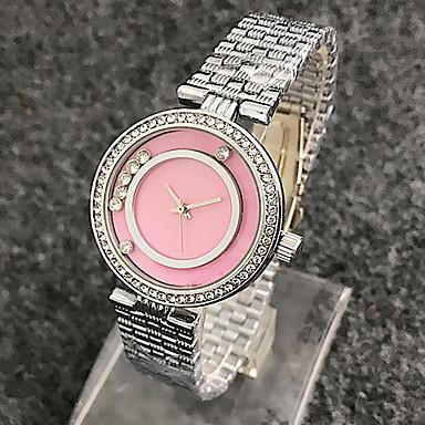 Dames Kinderen Dress horloge Modieus horloge Armbandhorloge Unieke creatieve horloge Vrijetijdshorloge Zwevende kristallen horloge