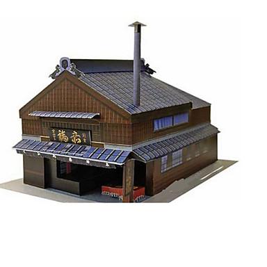 3D - Puzzle Papiermodel Modellbausätze Berühmte Gebäude Architektur 3D Heimwerken Klassisch Unisex Geschenk
