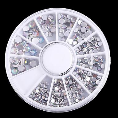 pinpai unghii pictura de arta mixte bijuterii decorare perle stras design cosmetic