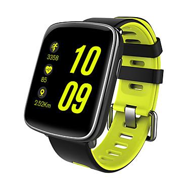 זול שעונים חכמים-חכמים שעונים מסך מגע מוניטור קצב לב עמיד במים כלוריות שנשרפו מד צעדים מעקב אימון מידע שיחות ללא מגע יד שליטה במצלמה Anti-האבוד המתנה