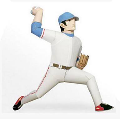 3D - Puzzle Bälle Papiermodel Baseball-Spielzeug Papiermodelle Modellbausätze Golf Heimwerken Hartkartonpapier Klassisch Sport Kinder