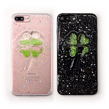 hoesje Voor iPhone 7 Plus iPhone 7 iPhone 6s Plus iPhone 6 Plus iPhone 6s iPhone 6 Apple iPhone 8 iPhone 8 Plus Strass Achterkant Bloem