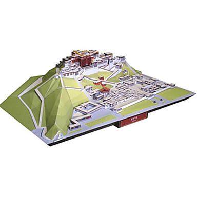 3D-puzzels Bouwplaat Modelbouwsets Vierkant Beroemd gebouw Chinese architectuur Architectuur DHZ Hard Kaart Paper Klassiek Chinese stijl