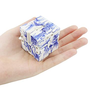 Infinity Würfel Fidget-Spielzeug Zum Stress-Abbau Spielzeuge Quadratisch Kunststoff Stücke Herrn Damen Geschenk