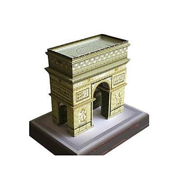 3D - Puzzle Papiermodel Papiermodelle Modellbausätze Berühmte Gebäude Architektur Triumphbogen Heimwerken Klassisch Unisex Geschenk