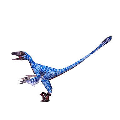قطع تركيب3D نموذج الورق ديناصور اصنع بنفسك ورق صلب للأطفال للجنسين هدية