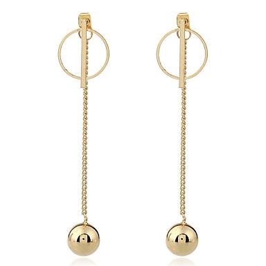 Dames Druppel oorbellen Ring oorbellen Uniek ontwerp Hangende stijl Metaallegering Sieraden Dagelijks gebruik liiketoiminta Club Uitgaan