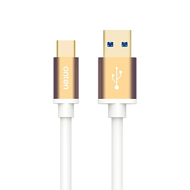 USB 3.0 Kabel, USB 3.0 to USB 3.0 Typ C Kabel Male - Male 0,5m (1.5ft)