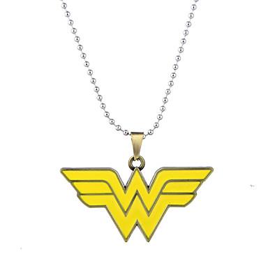 Herrn Damen Luxus Bikini Anhängerketten  -  Personalisiert Luxus Logo Stil Geometrische Form Schwarz Bronze Modische Halsketten Für