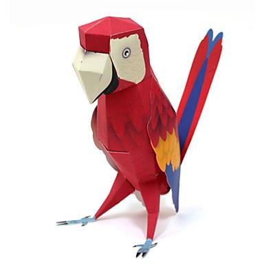 3D-puzzels Bouwplaat Papierkunst Modelbouwsets Vierkant Paard Parrot 3D DHZ Hard Kaart Paper Klassiek Unisex Geschenk