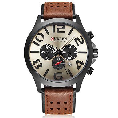 Heren Polshorloge Unieke creatieve horloge Sporthorloge Militair horloge Dress horloge Skeleton horloge Smart horloge Modieus horloge