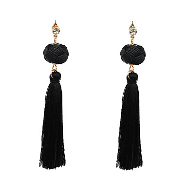 Pentru femei Supradimensionat Cercei Picătură - Sexy Supradimensionat Gotic Negru Rosu Albastru Geometric Shape cercei Pentru Absolvire