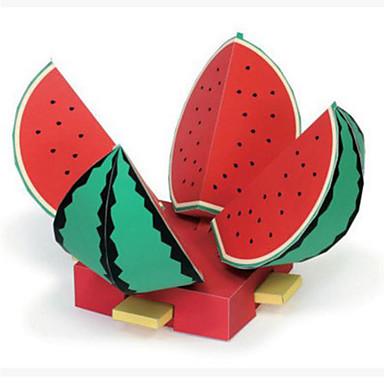 Puzzle 3D Modelul de hârtie Lucru Manual Din Hârtie Μοντέλα και κιτ δόμησης Pătrat Fruct 3D Reparații Hârtie Rigidă pentru Felicitări