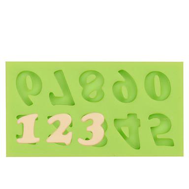 Backwerkzeuge Silikon Gummi / Silica Gel / Silikon nicht-haftend / Backen-Werkzeug / 3D Kuchen / Plätzchen / Cupcake Kuchenformen